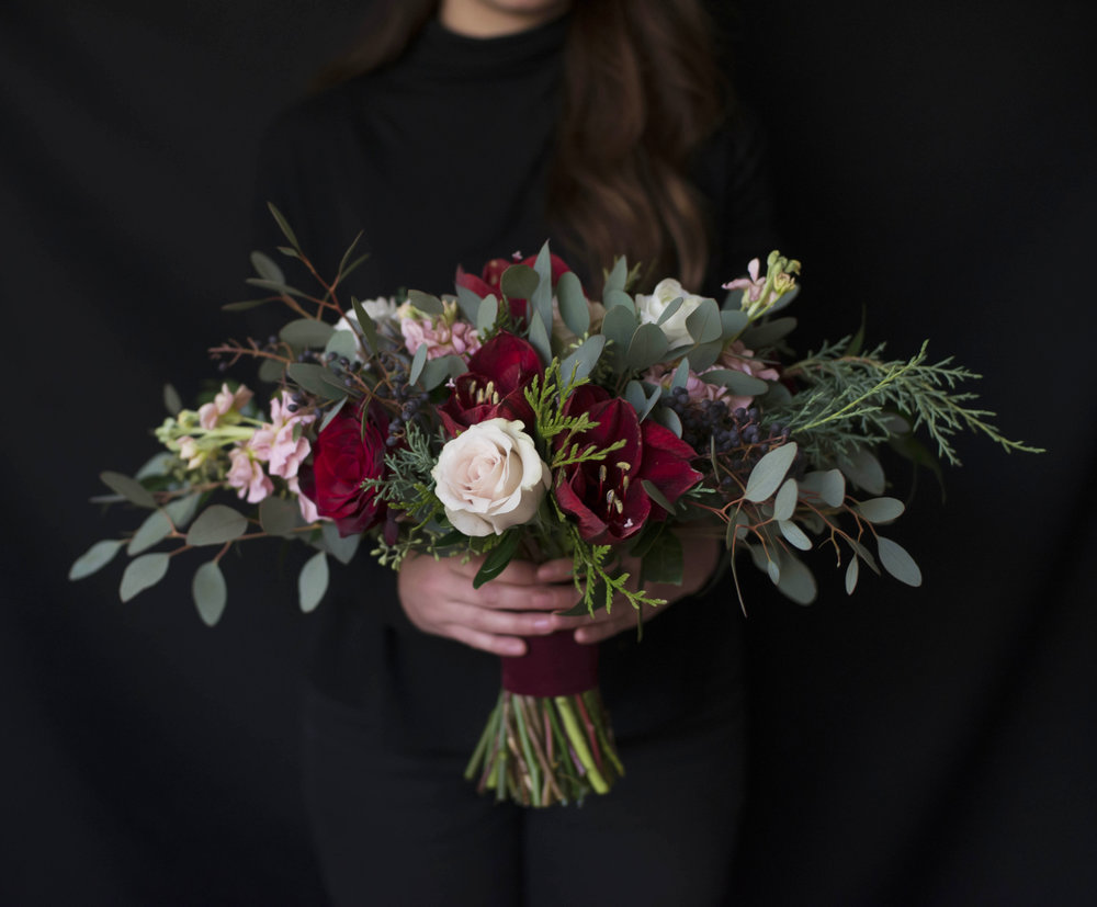 Danielle's Bridal Bouquet