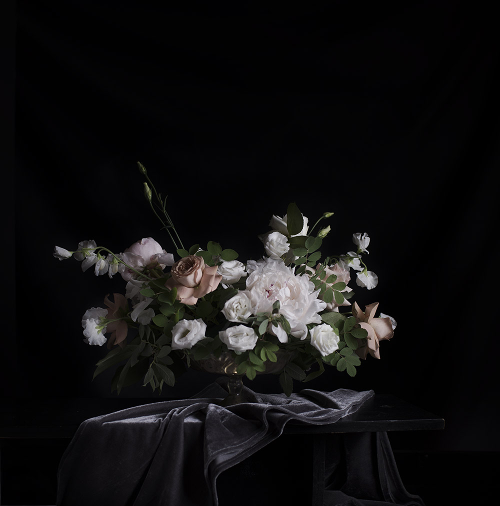Foxglove Studio YYC Floral Compote Design