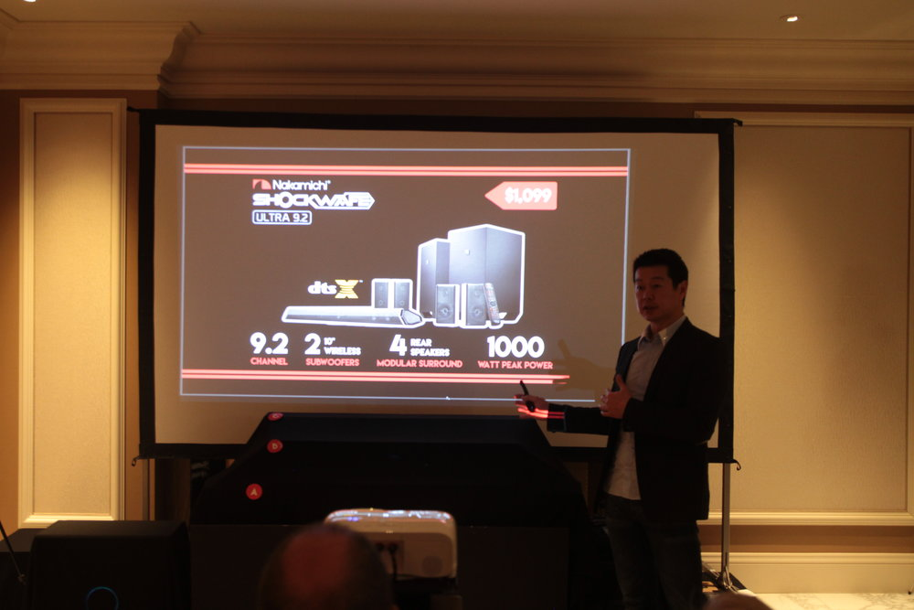 Nakamichi CES 2018 Soundbar Listening Battle_5