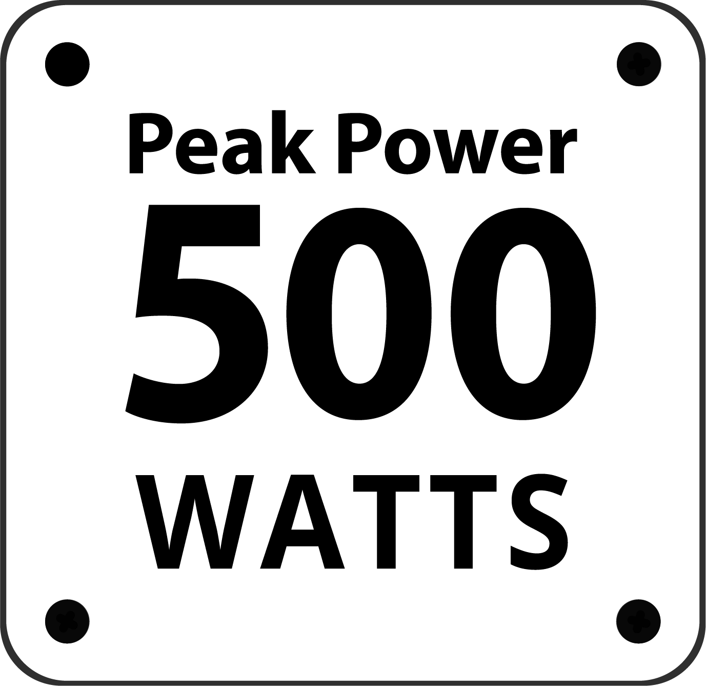 500-peak-power
