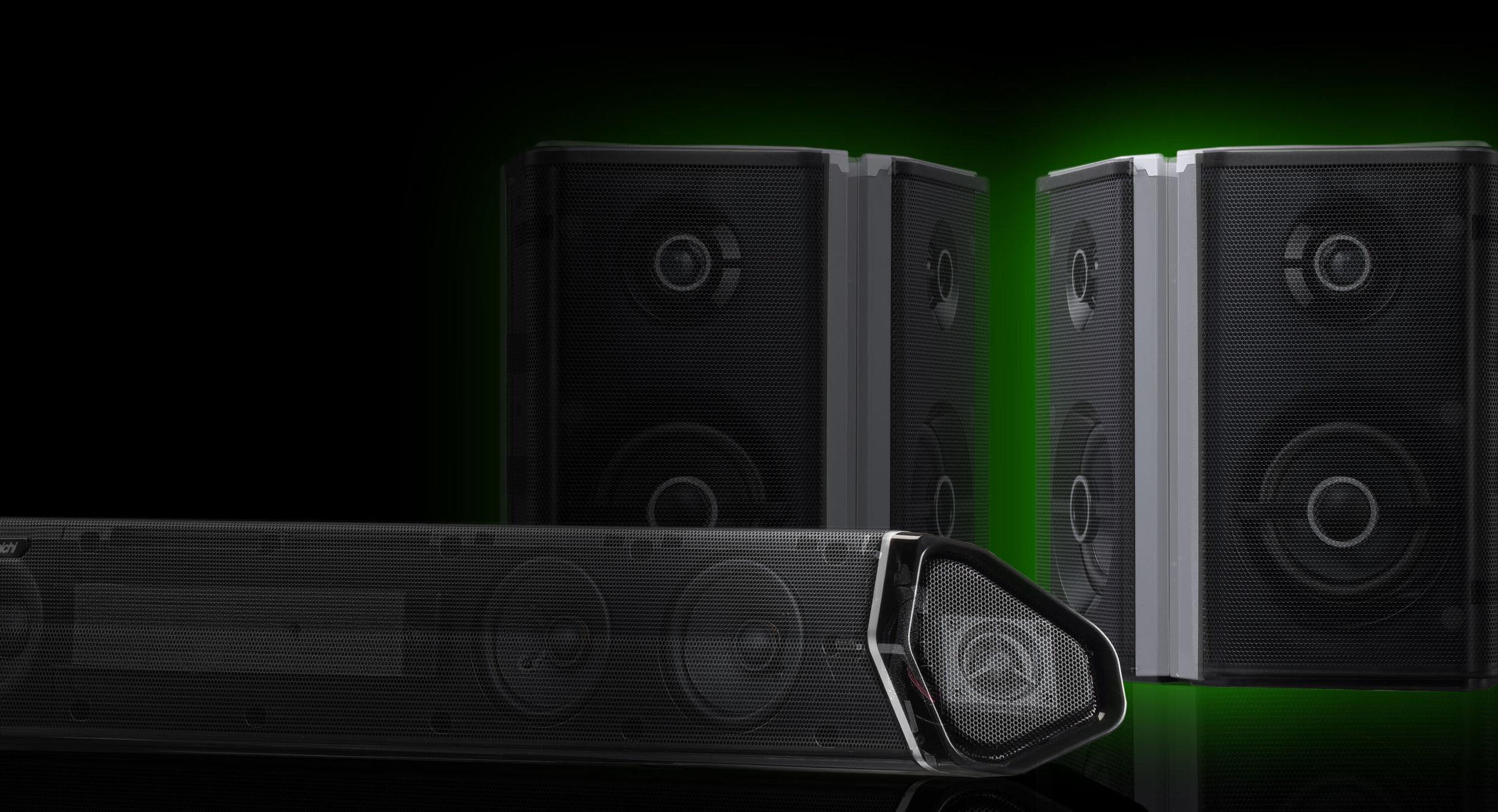 Shockwafe Ultra 9 2 SSE with Dolby Atmos Soundbar | Dual Wireless