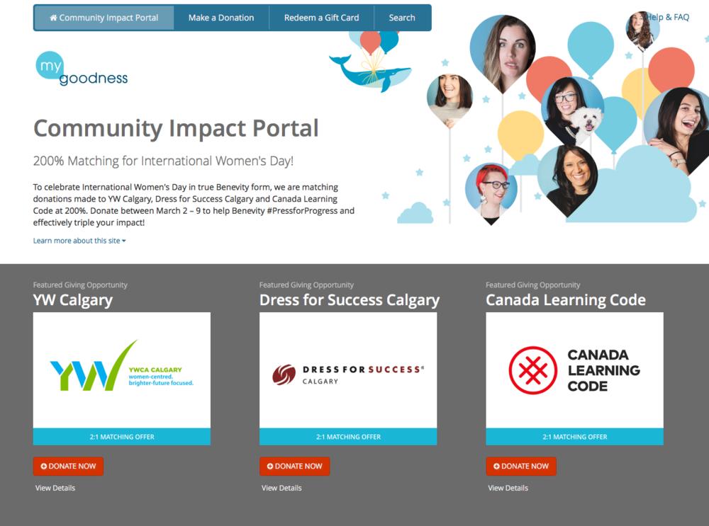 Benevity Community Impact Portal.png