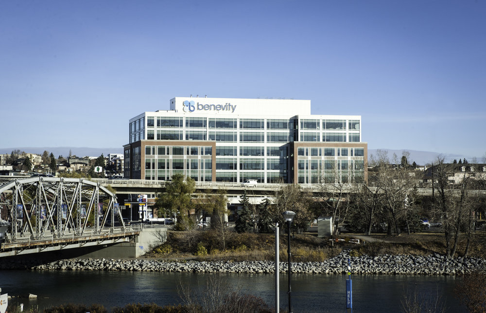 Benevity HQ, located in Calgary, AB