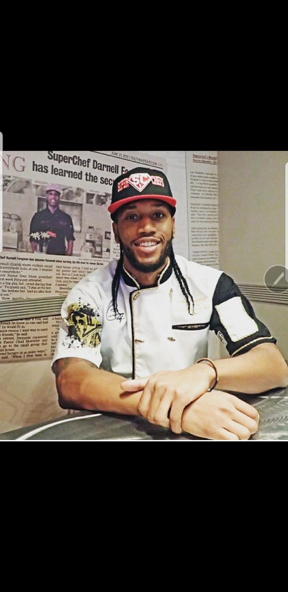Darnell Ferguson  -  Owner/Chef, SuperChef's
