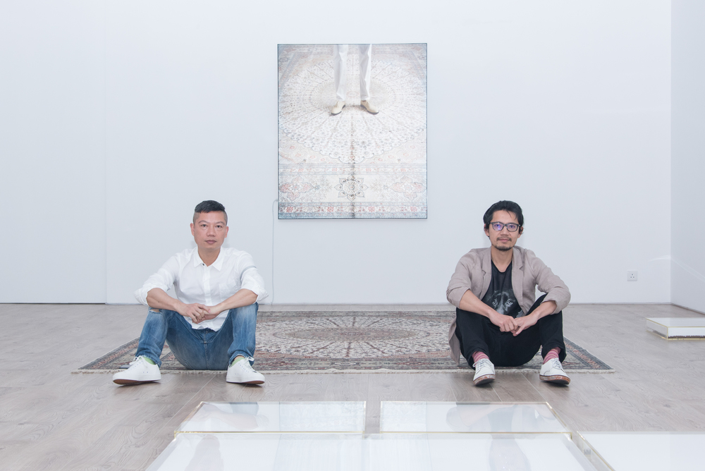 "( Chen Yujun and Chen Yufan, ""White"", 2016, Tang Contemporary Art, Hong Kong. Image courtesy the artists and Tang Contemporary Art.)"
