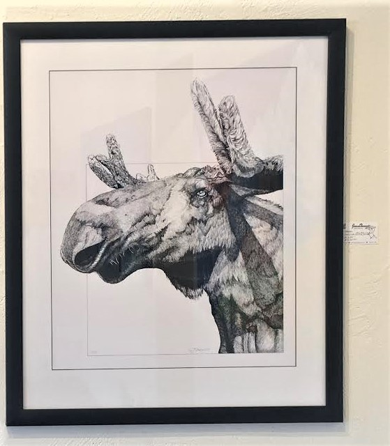 Framed - Price: $550Limited Edition Print #1/50