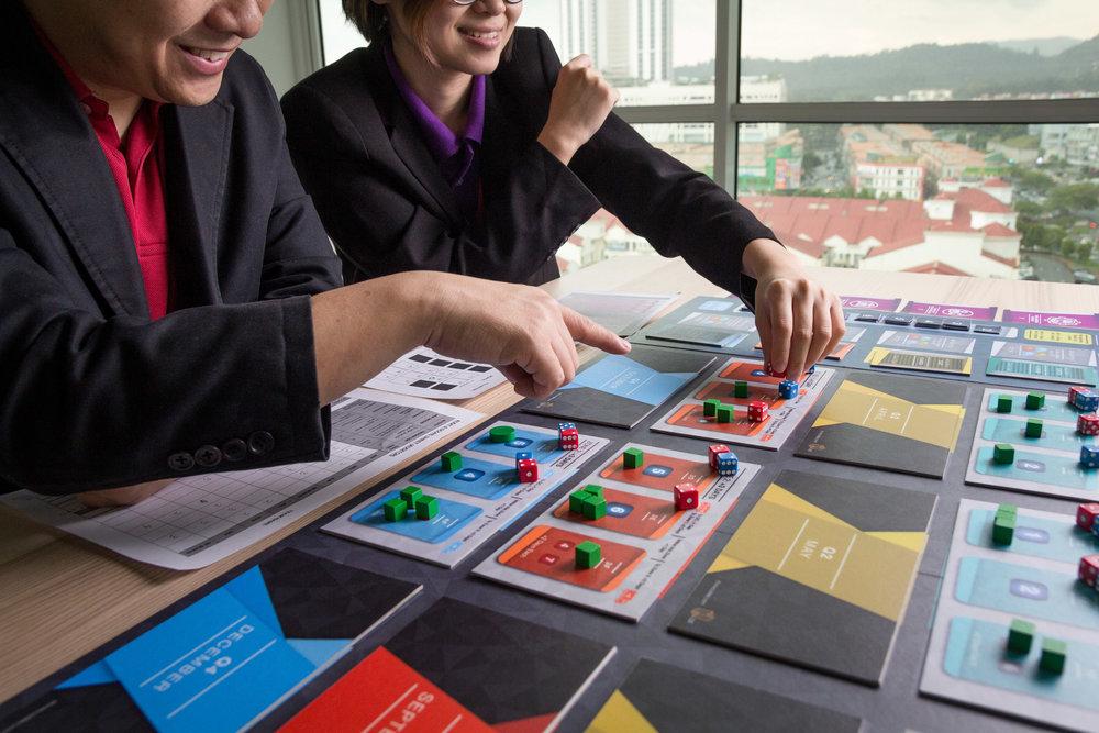 Our strategic thinking simulation - Allocate.