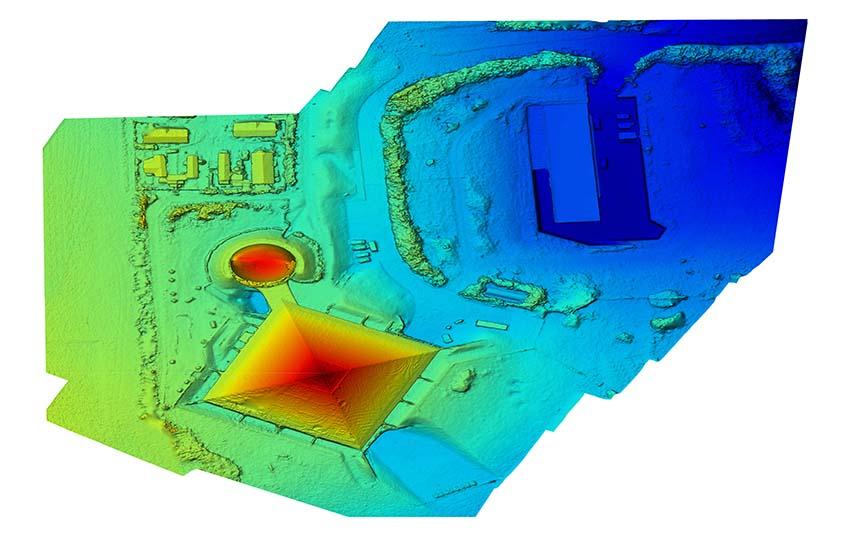 Digital Surface Model DSM