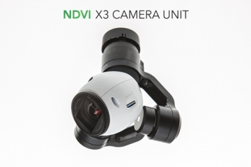 Infrared NDVI camera for the DJI Inspire 1
