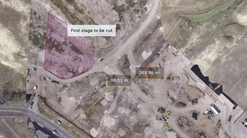 Napier Park construction site- 1st stage cut & fill.for Blu-3 Ltd.