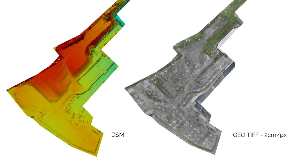 Drone UAV Survey & Mapping for Construction