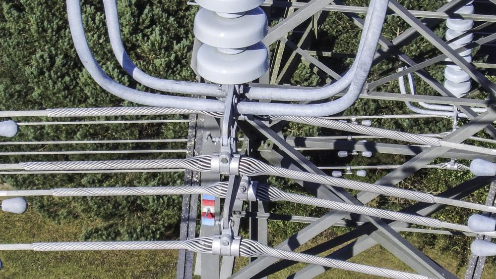 UAV pylon inspection