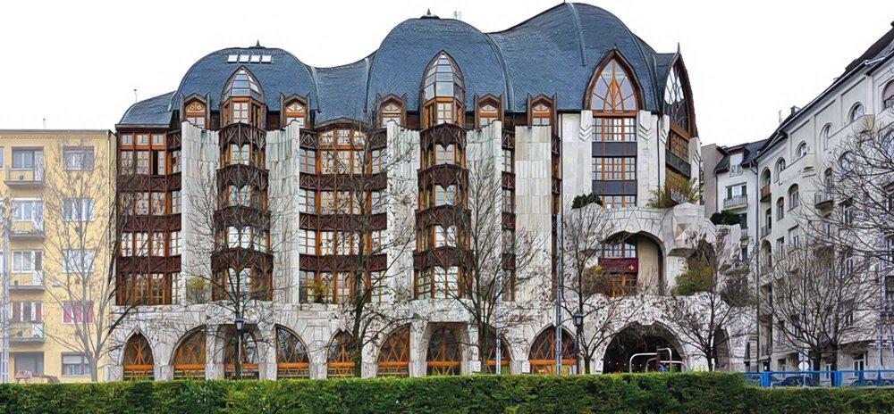 Swan-Haus in Budapest (Architekt: Ervin Nagy)