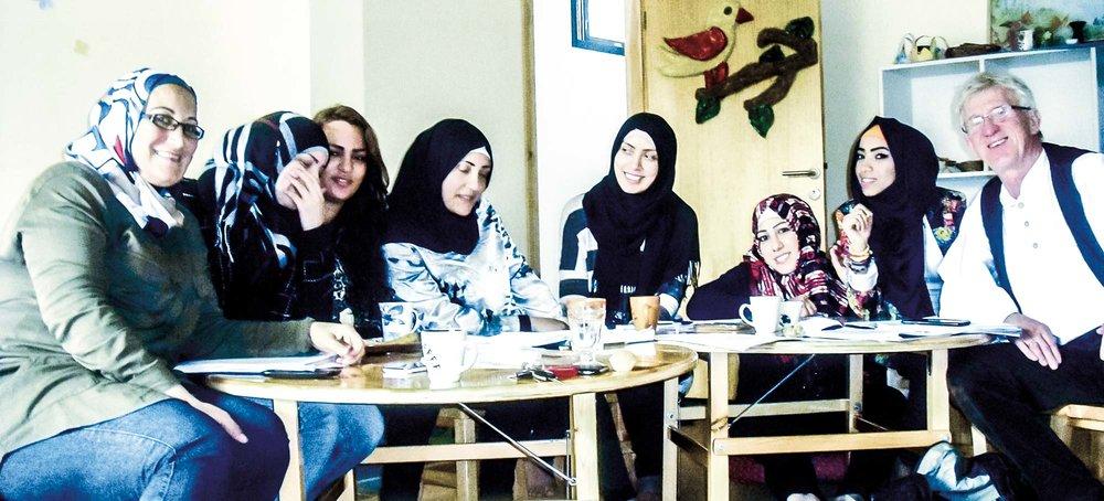 Das Team der Kindergärtnerinnen
