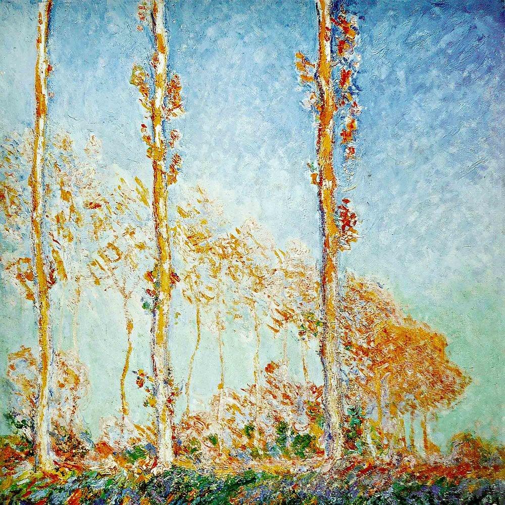 Jean-Claude Monet, Pappelserie, 1891