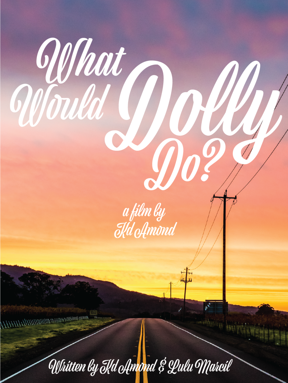 Grand Divisions Production Company Announces Co-Production of Feature Film, What Would Dolly Do? - The Grand Divisions Production Company has partnered with Slide Guy Entertainment and Some Pulp Productions to develop for production What Would Dolly Do? written by Kd Amond & Lulu Marcil and directed by Kd Amond.A love letter to country music, What Would Dolly Do follows The Gypsy Jo's: Laney Hitchcock, Sadie Jo Morgan and Rae Lynn White, a female country music trio from the hills of Appalachia.  Bonded by their talent, ambition, love for one another, and not to mention an unfortunate crime of passion they committed, these girls find themselves in a series of situations where they must rely on their wits and the unfailing wisdom of Dolly Parton's lyrics to solve their problems. While their adventures on the road make for plenty of songwriting material, the law is never far behind as they chase their dream of becoming country music's next success story.