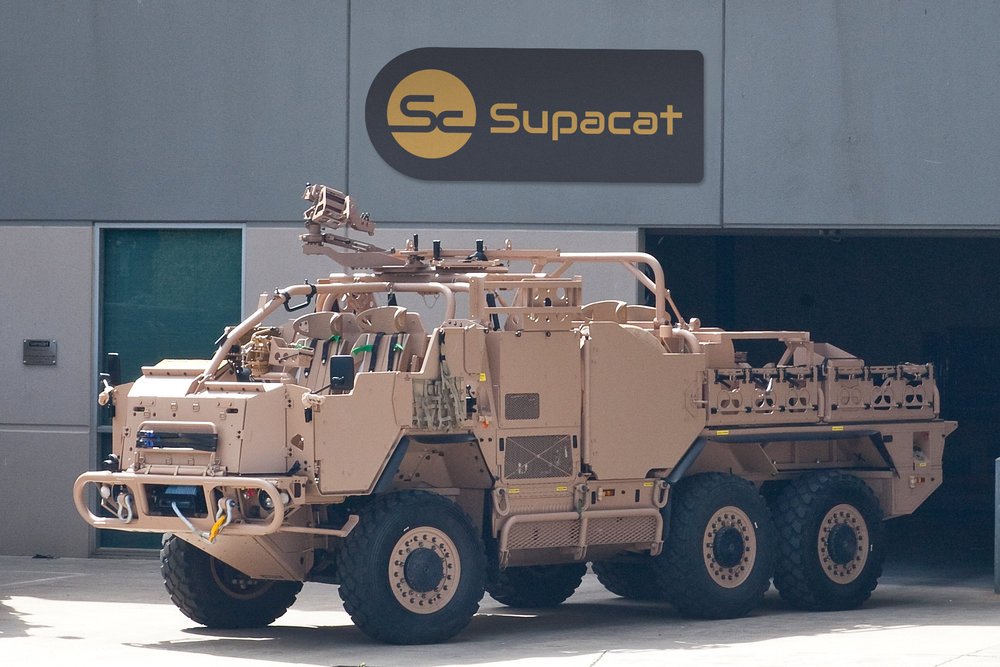 Supacat Vehicle