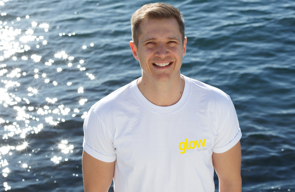 BEN MORRIS - GLOW CO MANAGING DIRECTOR As the Glow For Life Partner, Ben's personal goal is to show current Australians and future generations how important it is to prioritise their health .