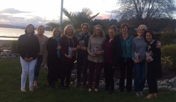 The wonderful women of the Normandy Park Book Club!