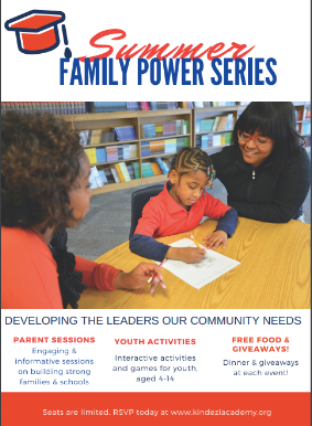 Join our 2018 Summer Family Power Series! This 4-part series provides informative and engaging sessions geared towards:-Parent & School Partnerships-Trauma-Informed Education-Academic Excellence &-Building Strong SchoolsJune 19th & 20th, July 18th & 19th.*Click below for more details. - Free food and youth activities included at each event! Limited seats available. RSVP today.