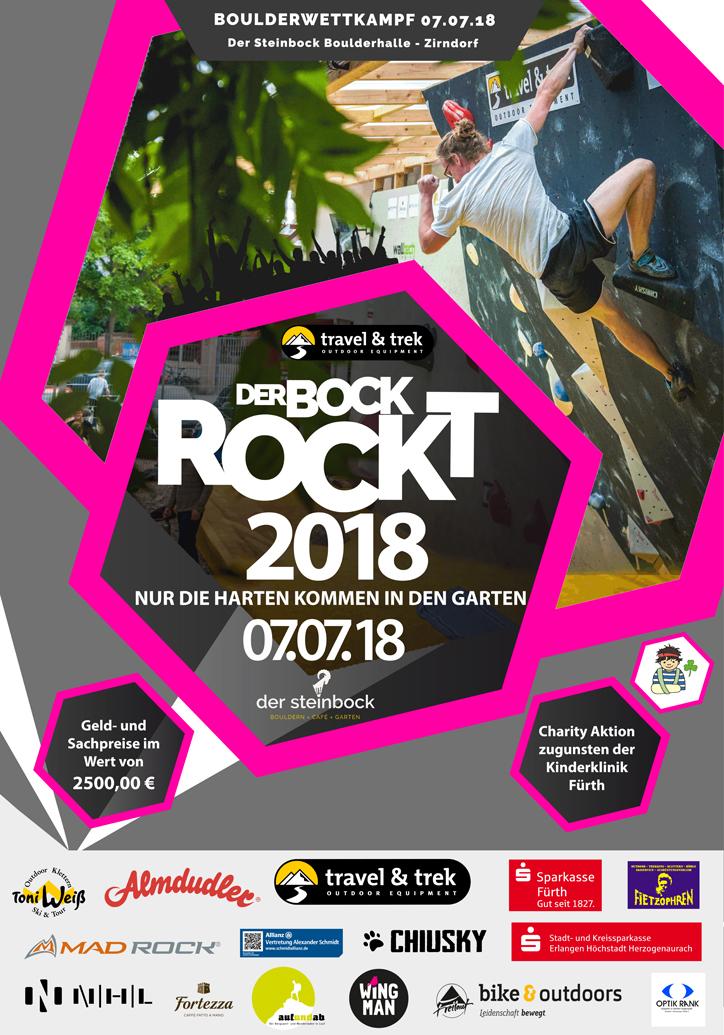 Der Bock Rockt 2018 Plakat