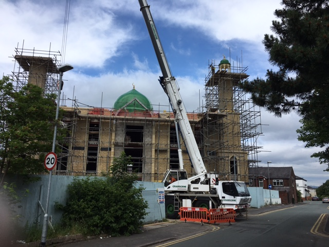 Our highly skilled fitting team working onsite in Bolton