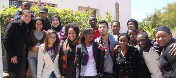 Students from Humanitarian Law Class, Spring 2012