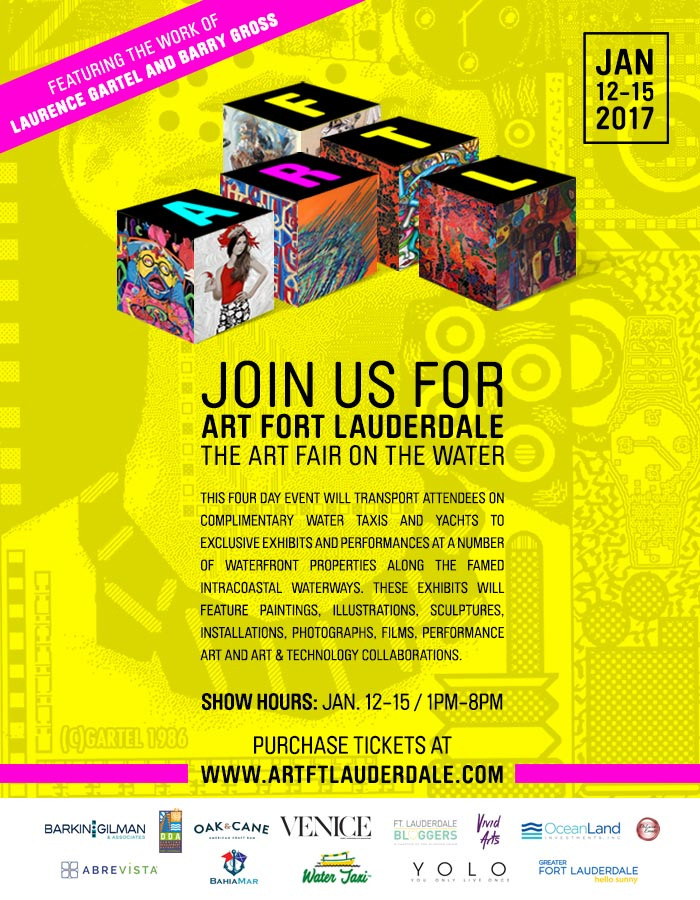 ART FORT LAUDERDALE - January 12 - 17, 2016