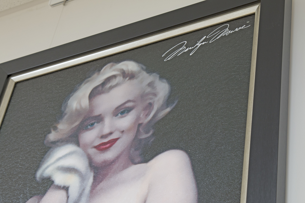 Marilyn Monroe framed picture