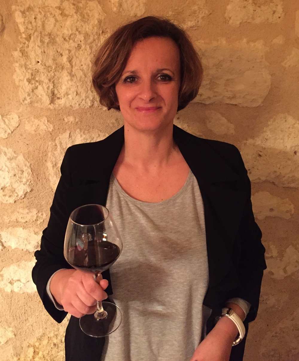 Sandrine Tillet: Ops Head of the Chateau (Photo credit: Chateau De Saint-Pey)