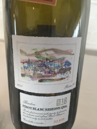 THE LOT SERIES BADEN PINOT BLANC 2015