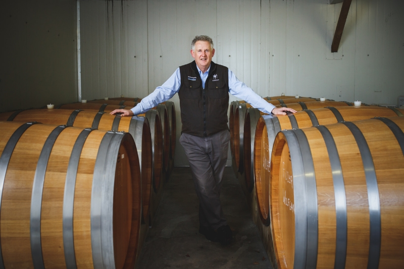 Dr John Forrest of Forrest Wines (Photo credit: Forrest Wines)