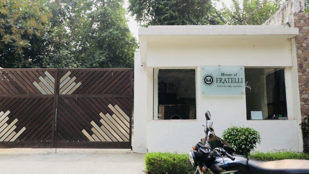 Fratelli's Chattarpur Office in Delhi (Photo credit: Sumi Sarma)