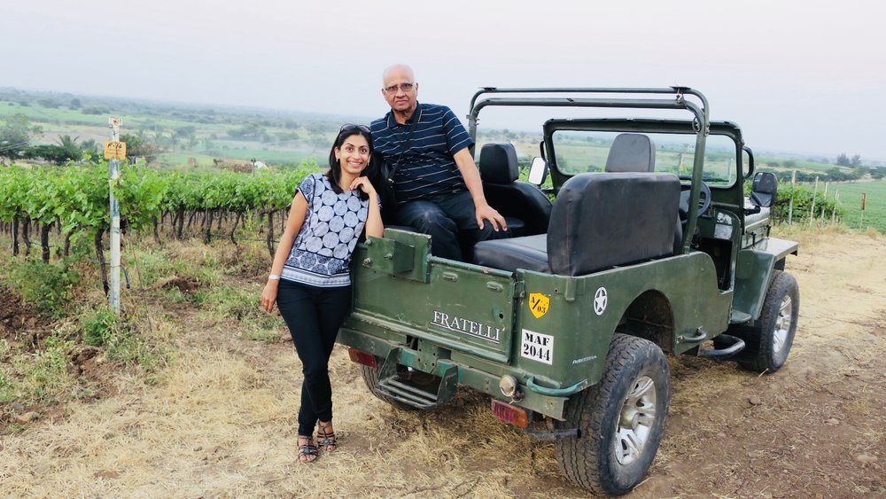 Conquering the rugged terrain on Fratelli's jeep (Photo credit: Sumi Sarma)