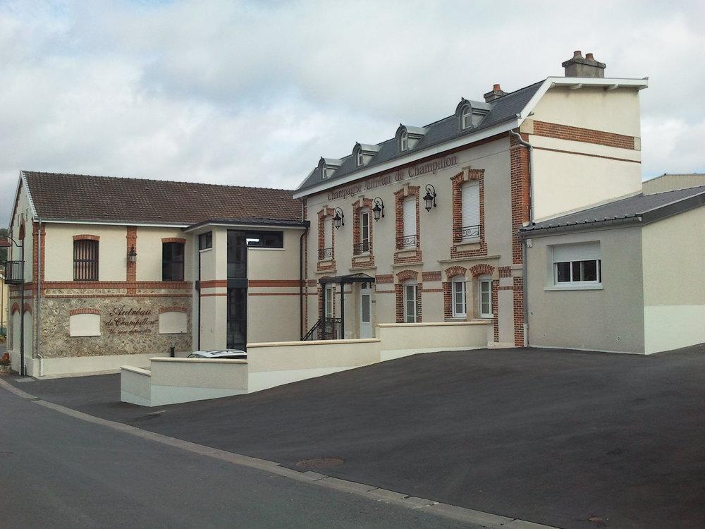 Winery of Autréau (Photo credit: Autréau)
