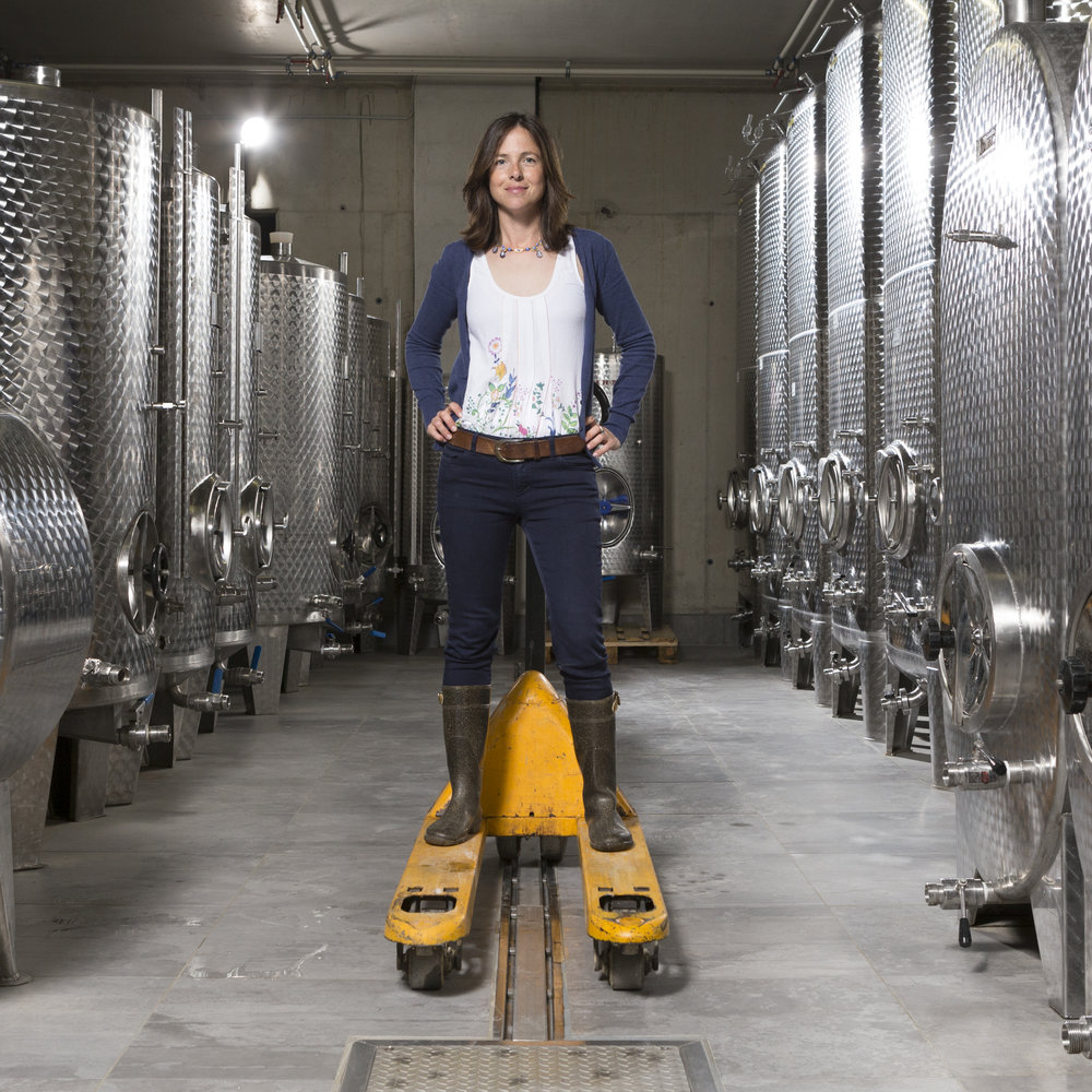 INGRID GROISS of Groiss Wines (Photo credit: Groiss)