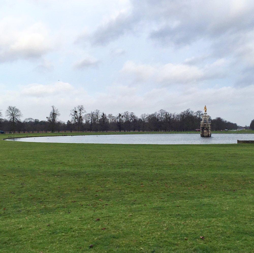 Diana Fountain at Bushy Park (London Borough of Richmond upon Thames) where the story of Parkrun began in 2004 (Image: Sumi Sarma)