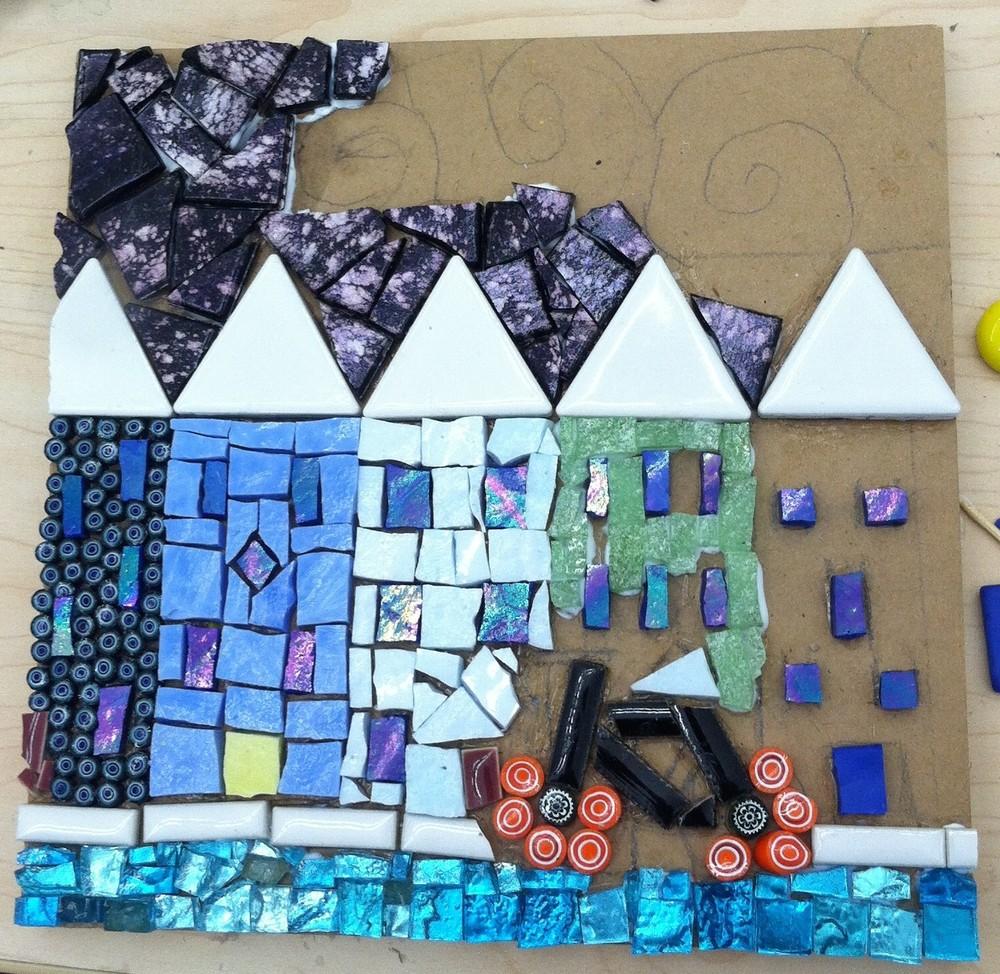 Aimee Carvalho's multi-media mosaic