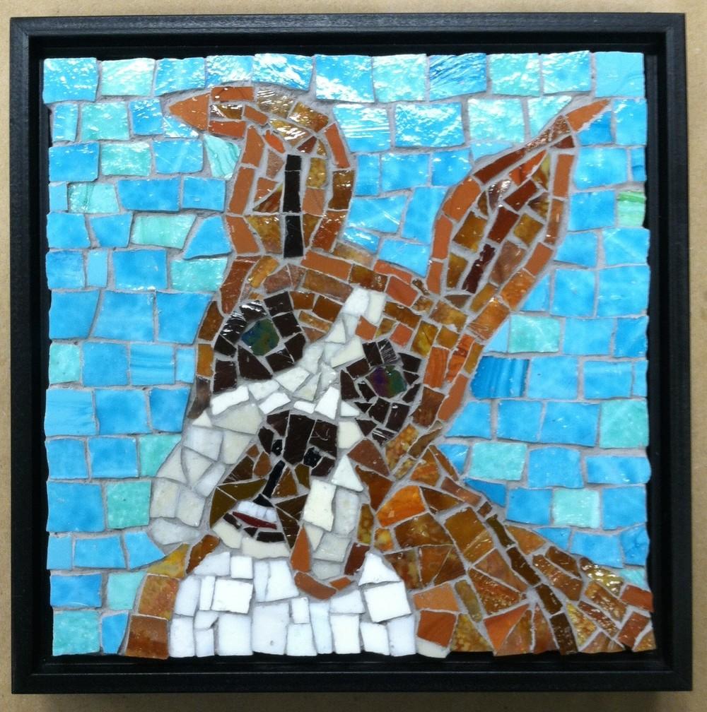 Susan Berman's mosaic