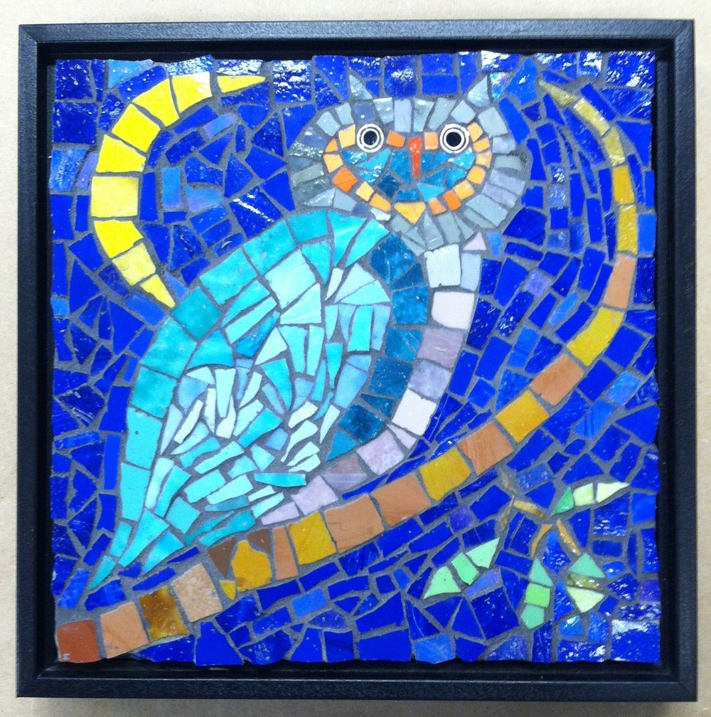 Kate Larabee's mosaic