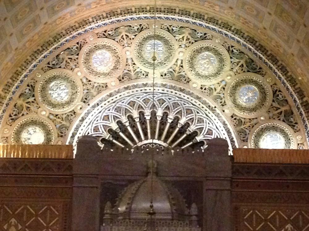 Interior of Rodeph Shalom
