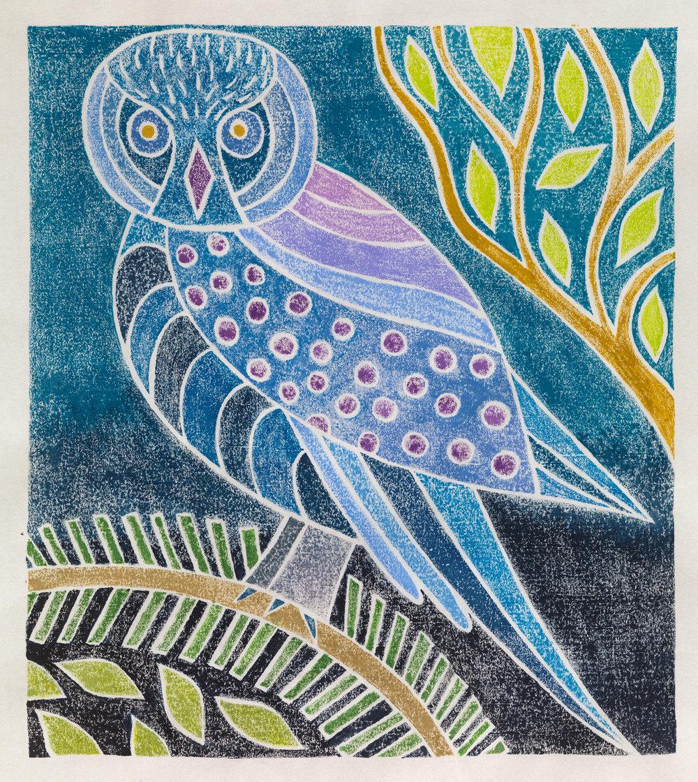 Evening Owl I