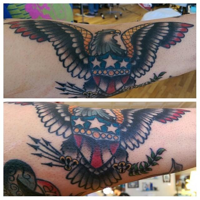 Sailor Jerry Tattoo Eagle