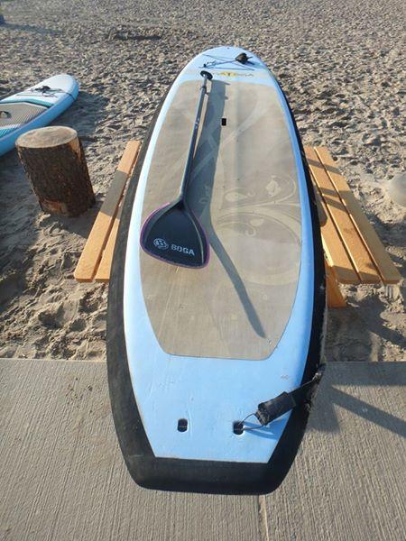BOGA YOGA soft top incl paddle €550,-