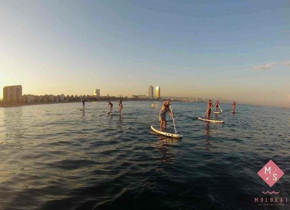sup weekend Barcelona