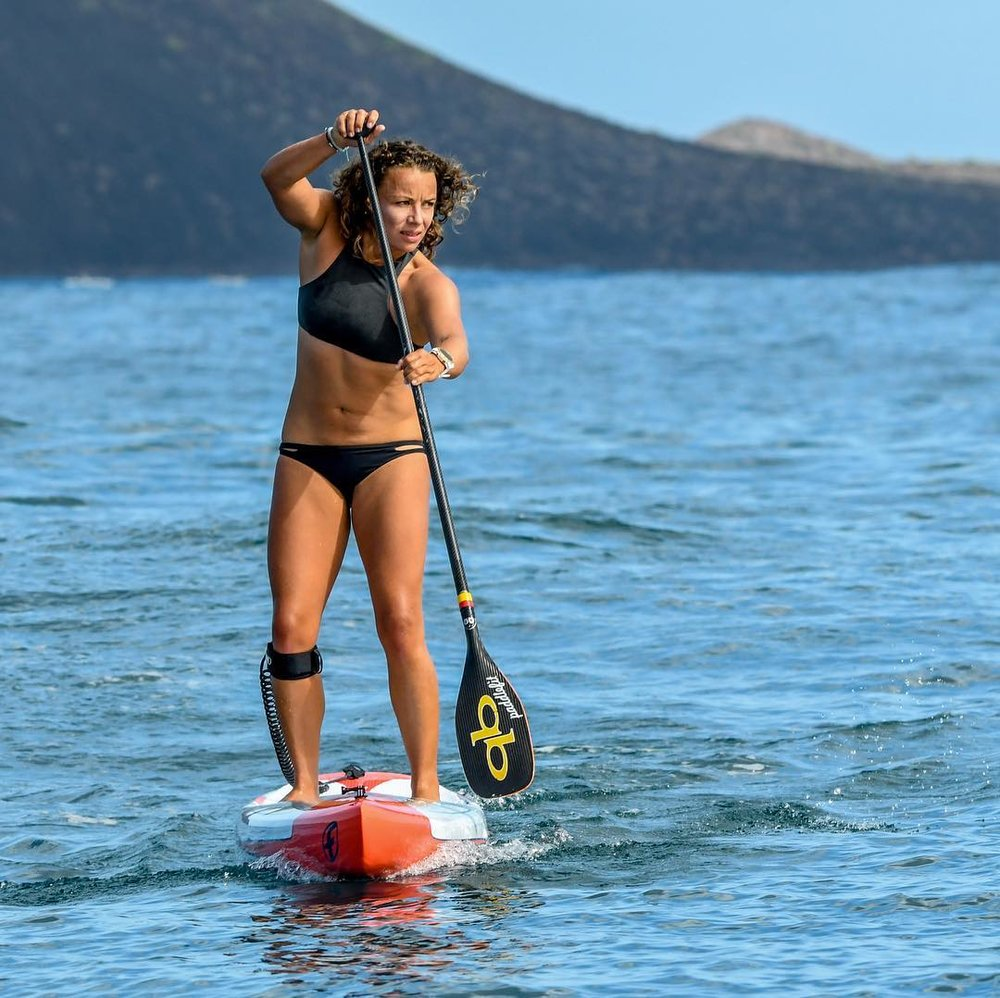 susanne lier from paddle fit and sup racer
