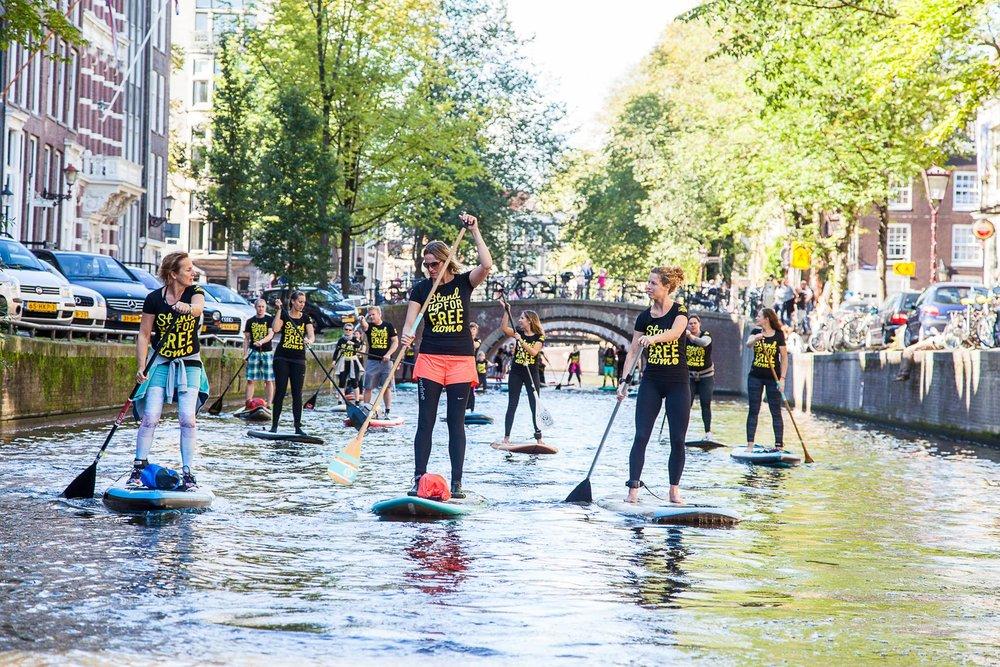sup tour amsterdam