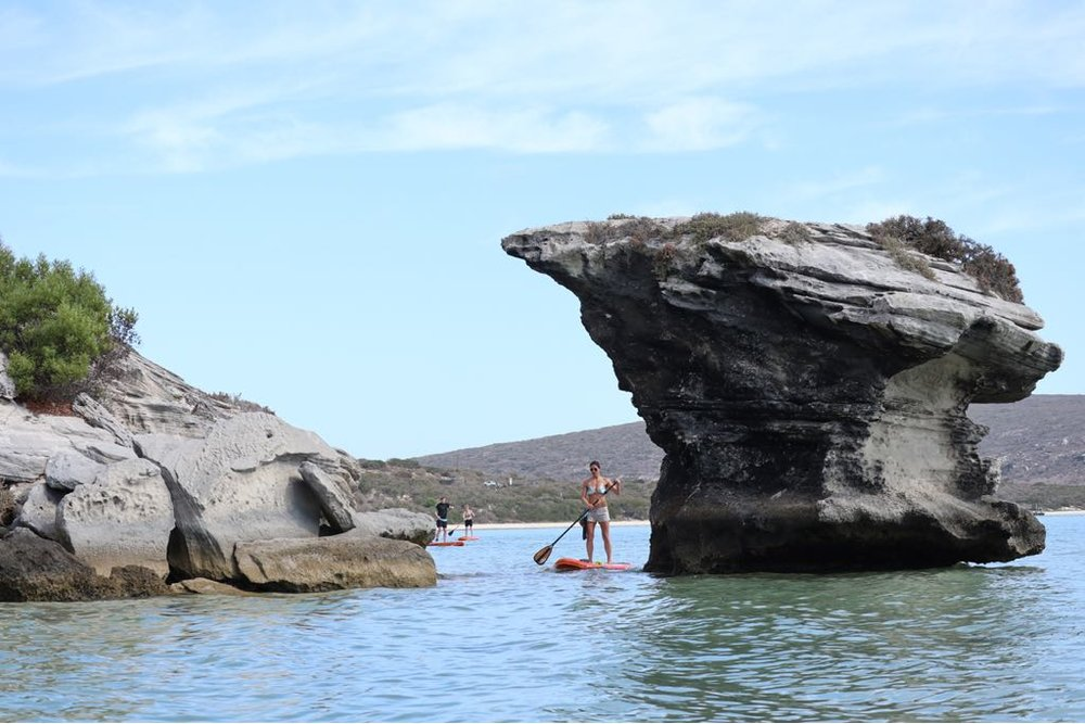 exploring langebaan lagune