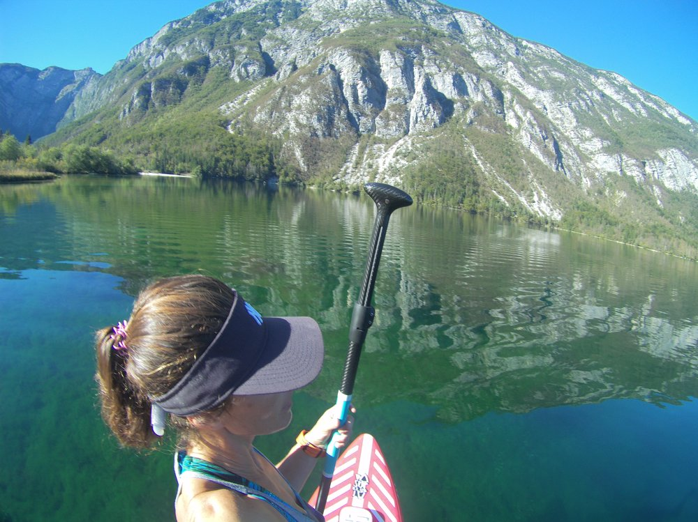 lake Bohinj supsafari