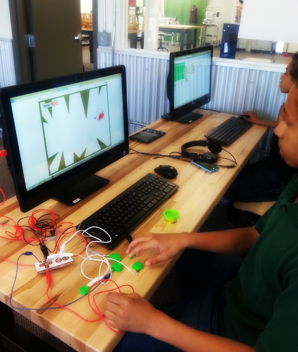 Innovating with the Makey Makey Microcontroller